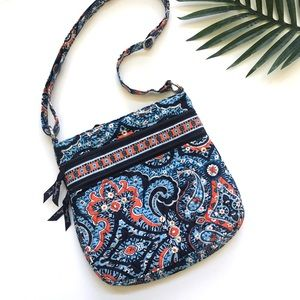 Vera Bradley paisley crossbody bag